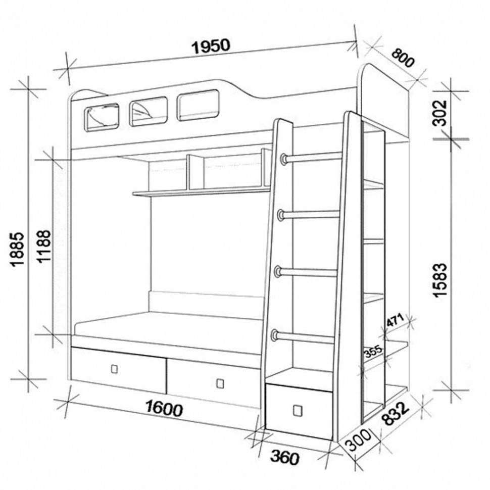 Кровать своими руками чертежи и размеры схемы фото 795